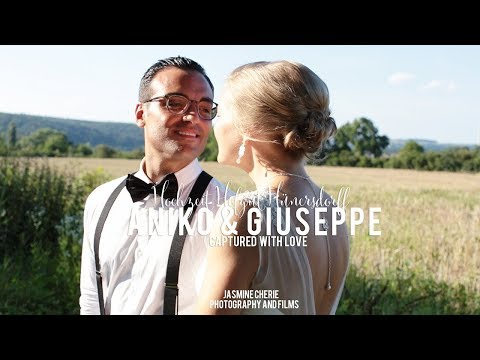 Hochzeitsvideo Frankfurt Hofgut Hünersdorff :: Hochzeitsfilm Aniko und Giuseppe