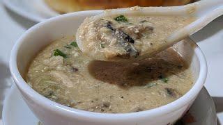 How to make Chicken Mushroom Soup | Chicken Mushroom Soup Recipe