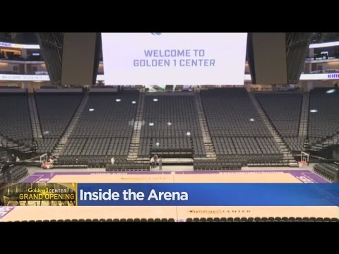 Golden 1 Center Opening Just A Week Away