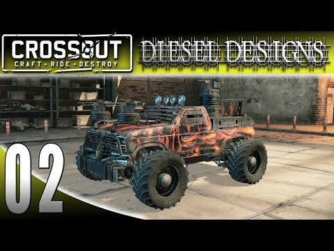 Let's Try CROSSOUT Gameplay: EP2: My First War Machine! (HD MMO Vehicle Shooter)