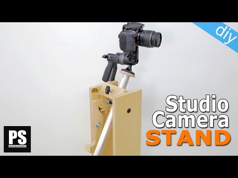 Homemade Studio Camera Stand