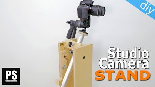 Homemade Studio Camera Stand