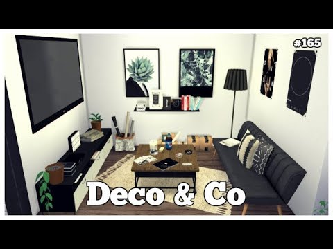 Les Sims 4 | DECO & CO #165 | FIRST SMALL APARTMENT