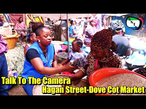 Talk To The Camera - Hagan Street Market Dove Cot - Sierra Leone