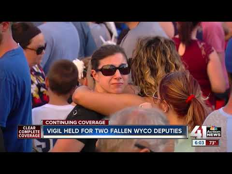 Fallen WyCo deputies memorialized at vigil
