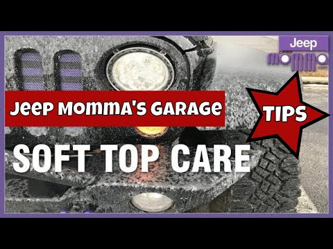 Jeep Wrangler Soft Top Cleaning Tips Top 5 Must Have Winter Weather Kit