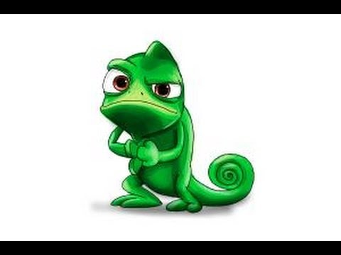 How to draw Pascal from Tangled - YouTube
