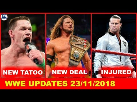 Cean New Tatoo   Raw & Smackdown Merged ?   Styles New Deal   Raw Star Out   WWE Updates 23/11/2018