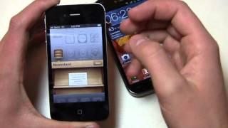 Apple iPhone 4S vs. Samsung Galaxy S II Dogfight Part 1