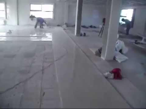 Colocacion de Piso Porcelanato 60x60 en Remodelacion  YouTube