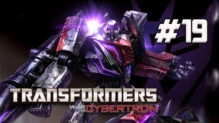 Transformers War for Cybertron Walkthrough - Part 19 [Chapter 5] Boss Omega Supreme Let