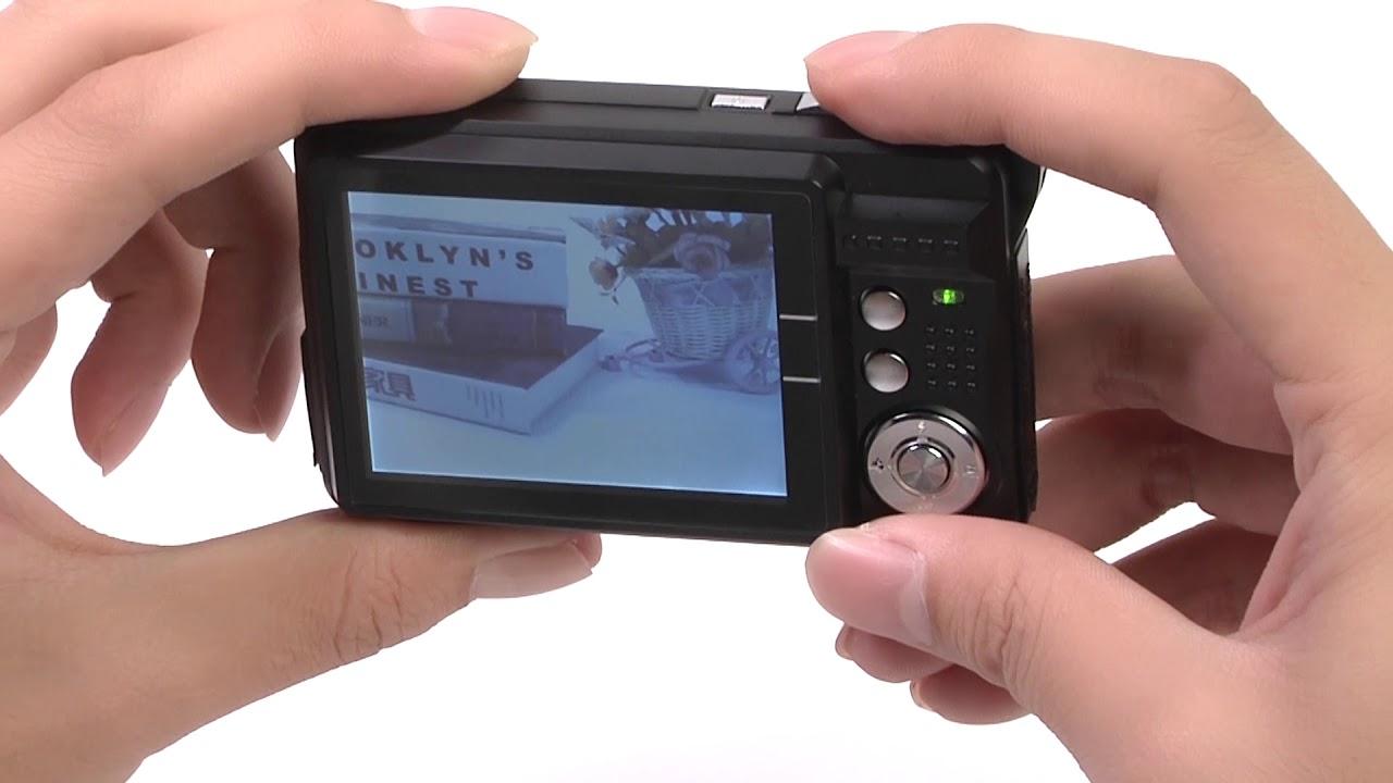 Aberg Best 21 Megapixel 2 7 Lcd Wiederaufladbare Hd Digitalkamera Youtube