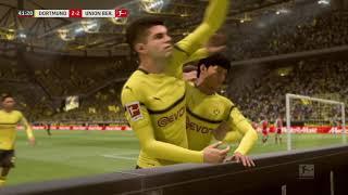 DFB  Pokal         Borussia Dortmund vs  Union Berlin      (31.10.2018)