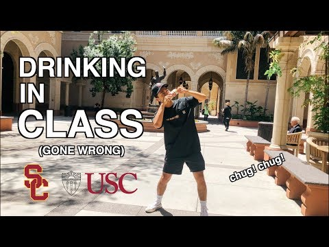 I WENT TO SCHOOL DRUNK... (USC)