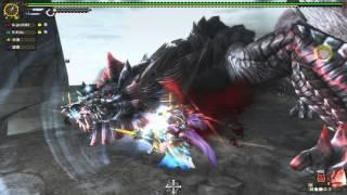 【MHF-G】夜楓的MHF-G  #緊急任務-急襲!高塔的黑狐龍 ★7黑狐龍