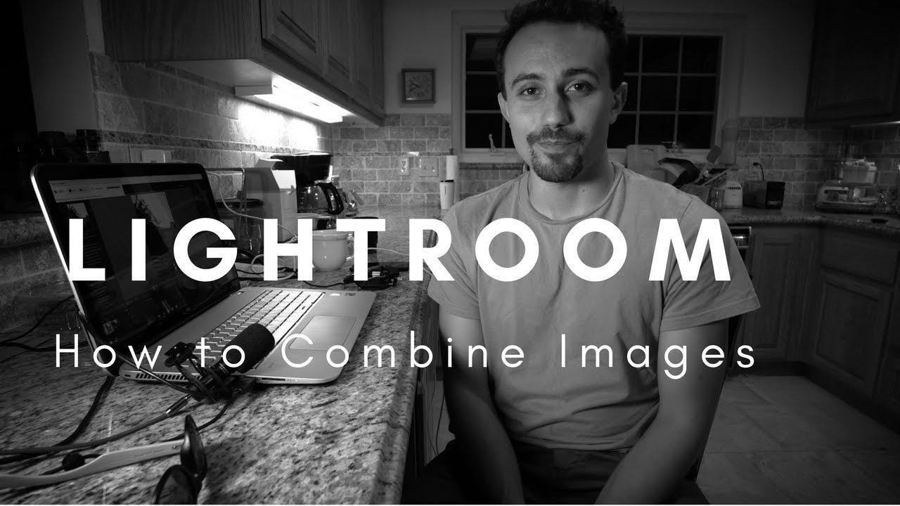Stitch photos in lightroom
