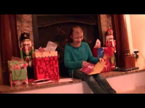 Juliana Carver 10th Birthday Celebration - Opening Gifts ...