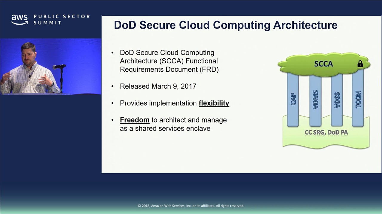 Deploy a DoD Secure Cloud Computing Architecture Environment in AWS