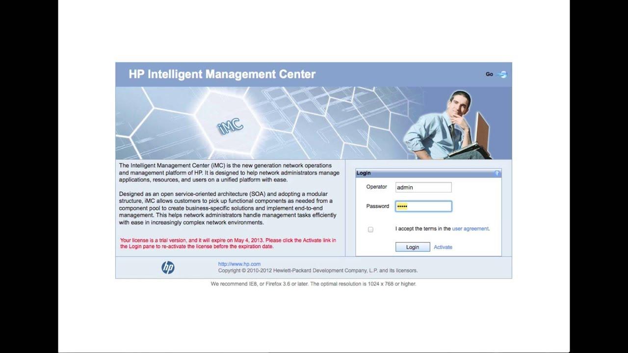 HP IMC MSM sFlow with NTA 5 2