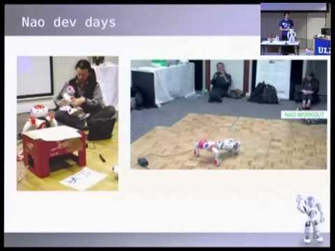 [FOSDEM 2013] Aldebaran Robotics and Open Source