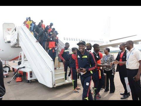Uganda news | Triumphant Uganda Cranes returns from successful Lesotho expedition