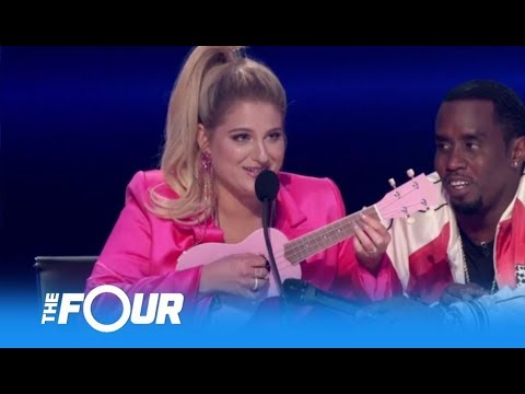 DJ Khaled Challenges Meghan Trainor On LIVE TV With a Ukulele Test | The Four