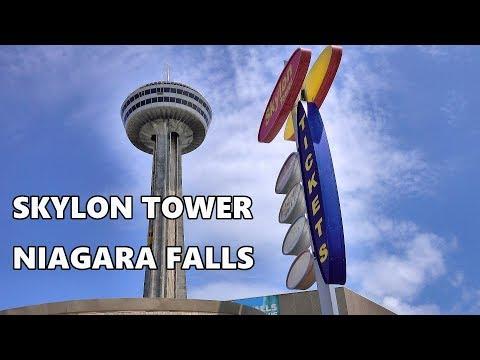 SKYLON TOWER - NIAGARA FALLS 2019 4K
