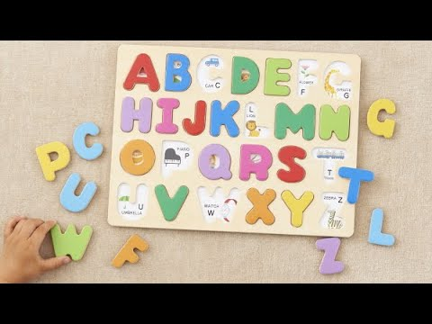 ABC Toys Puzzle ASMR for Kids Toddlers Abcd Learn ...