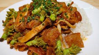 Vlog 13 | Thịt Ba Chỉ Heo Xào Cay Với Sốt Bulgogi (Spicy Pork Bulgogi)