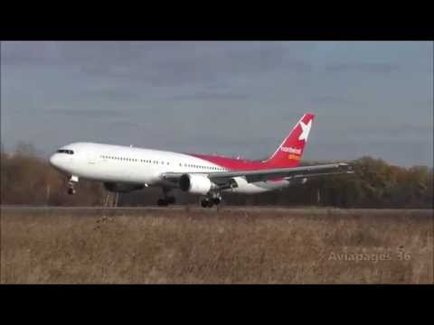 Boeing 767 в Воронеже