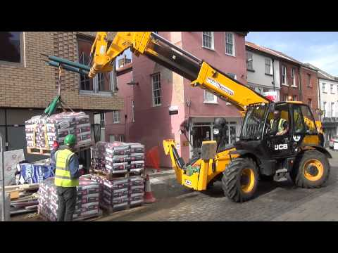 Westlegate Tower - JCB Forklift Film 2014