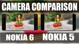 nokia 6 vs nokia 5 camera test comparison 2017