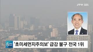 [JTV 8 뉴스] '초미세먼지주의보' …