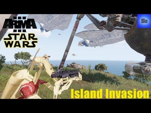 Island Invasion! - Arma 3 Star Wars 501st Legion Operation