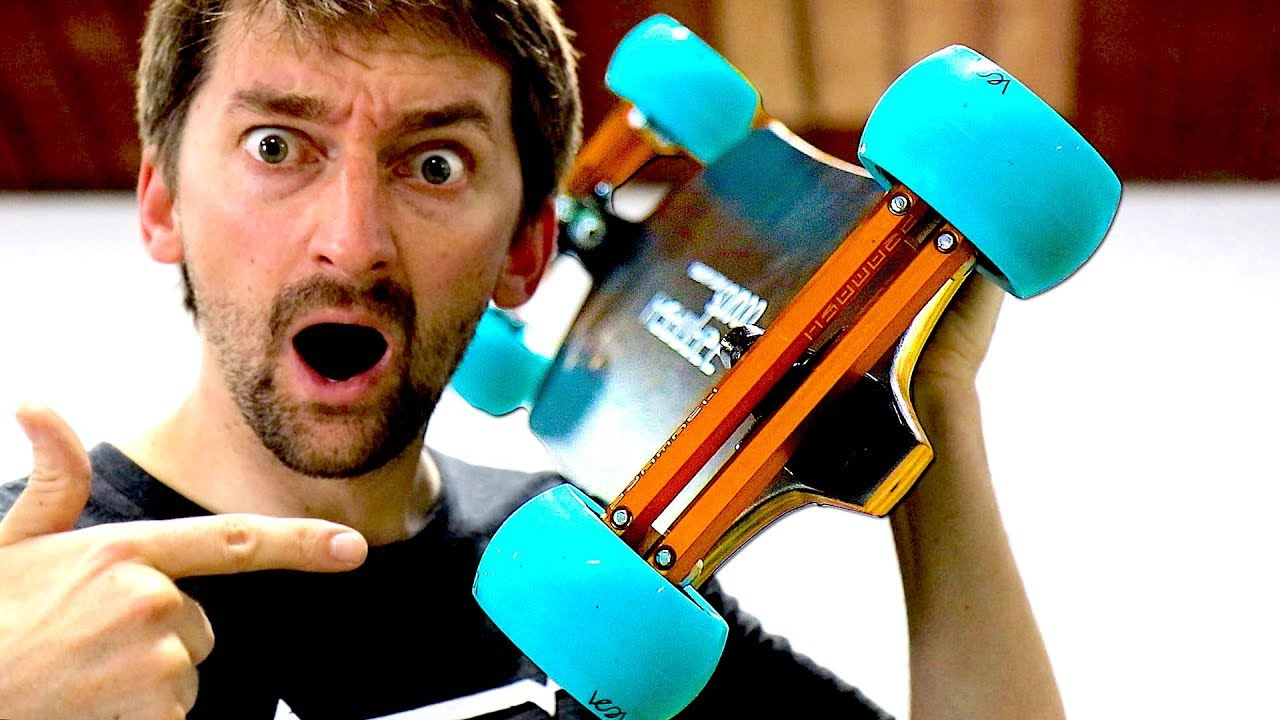 THE MOST TECHNOLOGICALLY ADVANCED LONGBOARD