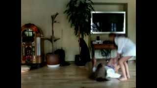 Girls Epic Fail On The Slippy Floor