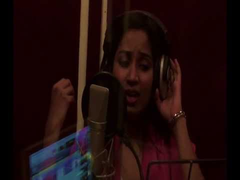 Shreya Ghoshal Isakki Song  Making   Enn Chella Kutti Tamil Song