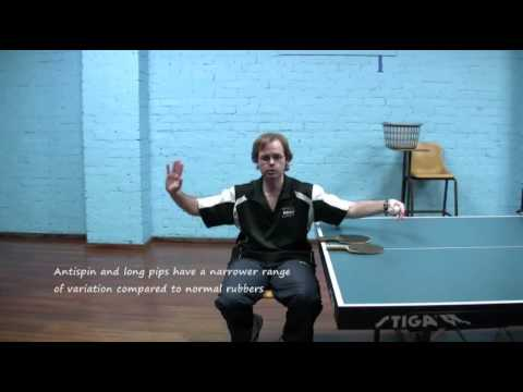 Table Tennis - Long Pips & Antispin - Advantages & Limitations