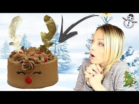 ♡•-recette-layer-cake-renne-de-noËl-|-au-chocolat-!!-•♡