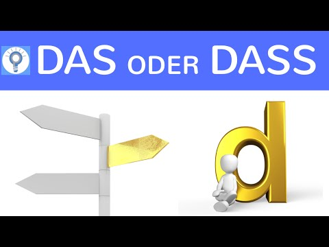 das oder dass was ist der unterschied wann verwendet man was deutsch grammatik youtube. Black Bedroom Furniture Sets. Home Design Ideas