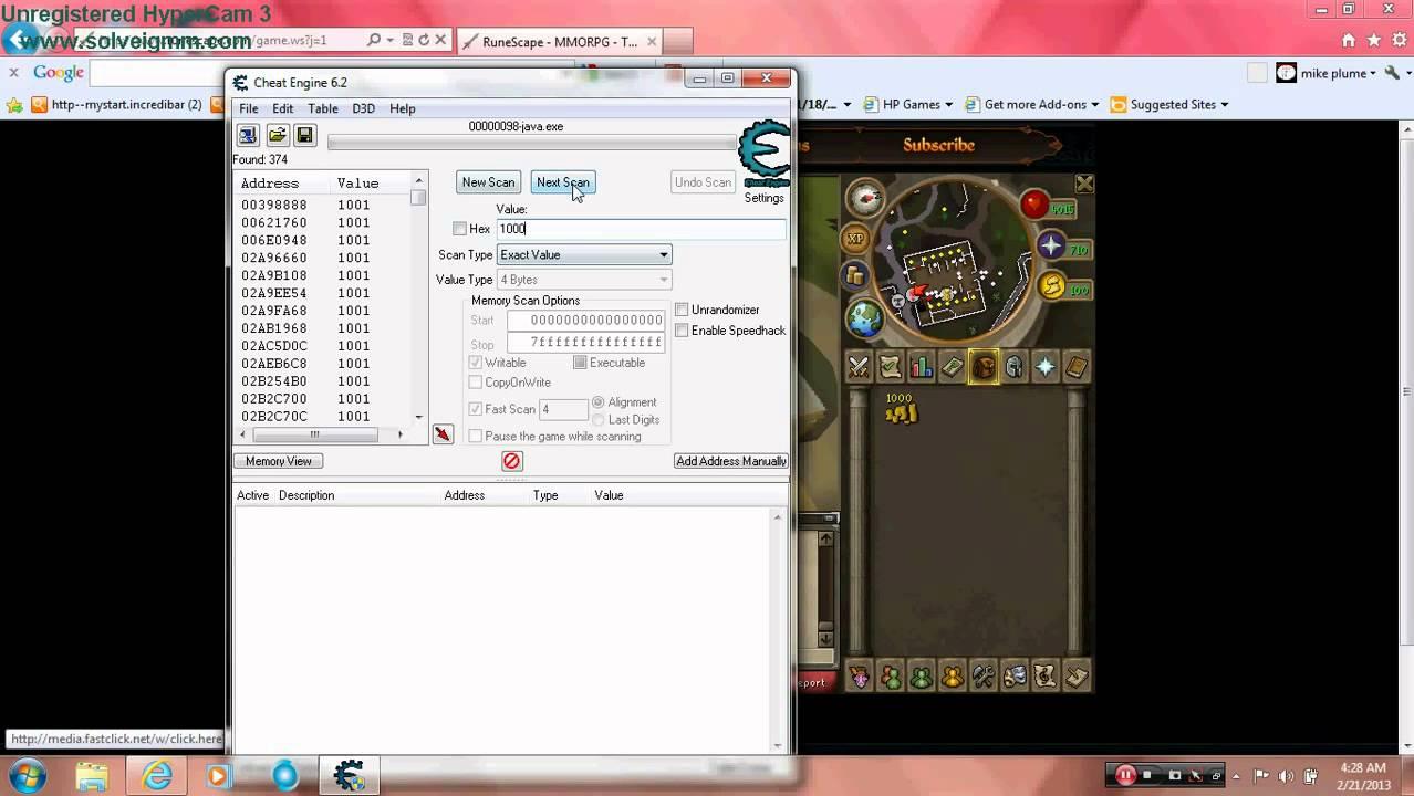 Download Cheat engine free (mediafire link)