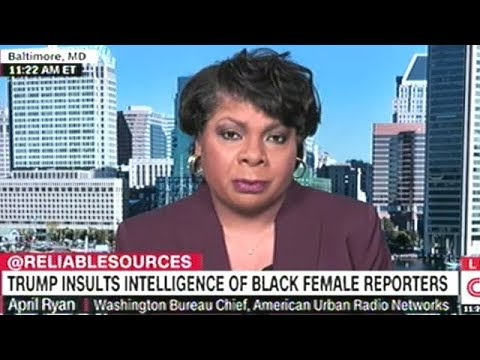 """April Ryan Responds To President Trump Calling Her A """"Stupid Loser"""""""