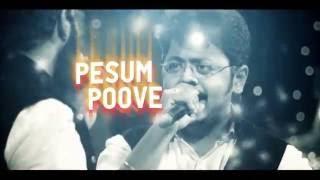 Download Hindi Video Songs - Pesum Poove - Official Lyric Video | Saisharan | Santosh Hariharan