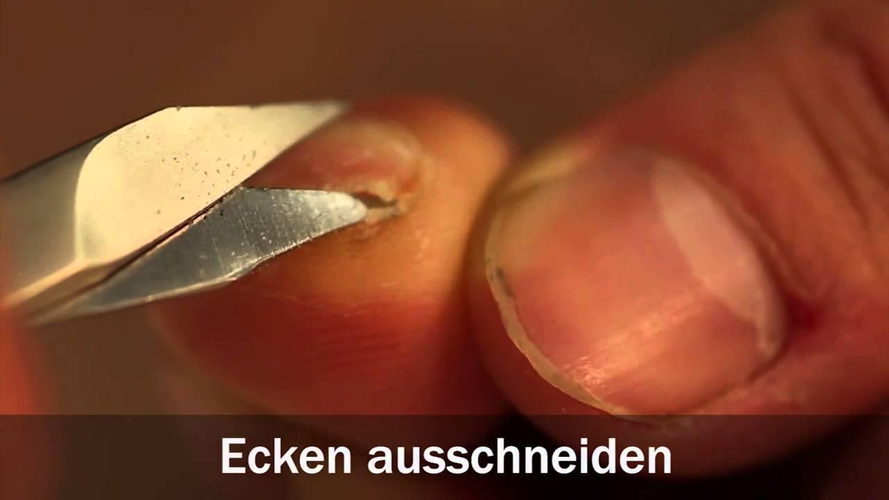 So schneiden Sie sich Ihre Fußnägel richtig - YouTube