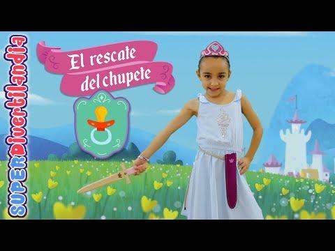 El Rescate del Chupete. Andrea, una Princesa Valiente