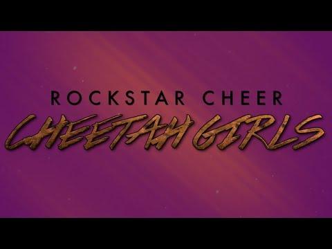 Rockstar Cheer Cheetah Girls 2017-18