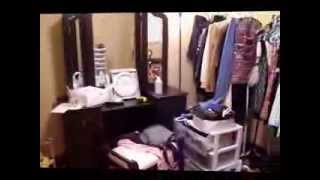 Walk In Closet Organization Before
