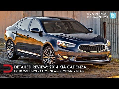 Detailed Review: 2014 Kia Cadenza on Everyman Driver
