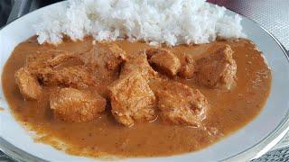 Receta de Pollo Al Curry Indonesio (Rendang)