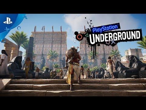 Assassin's Creed Origins PS4 Gameplay | PlayStation Underground